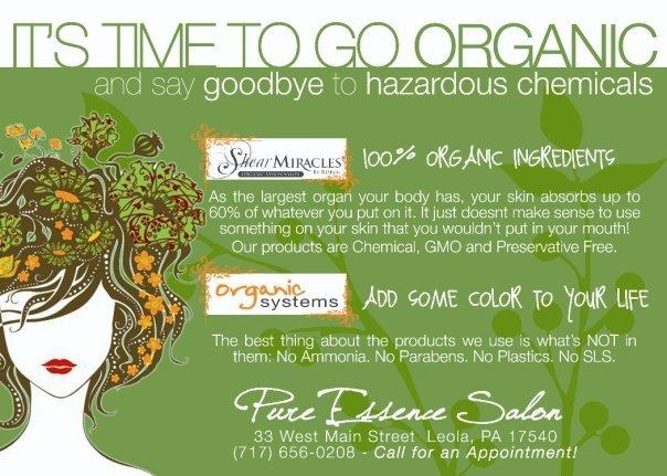 Organic Hair Salon : The Importance of Organic Hair Care Shear Miracle Organics